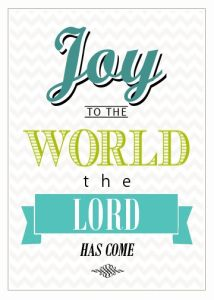 12-2 Joy to the World