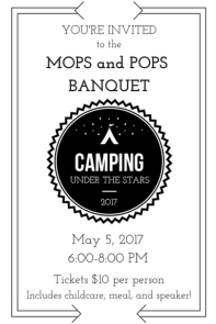 2017 Banquet Invitation