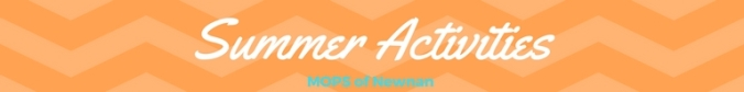 Summer Activities banner
