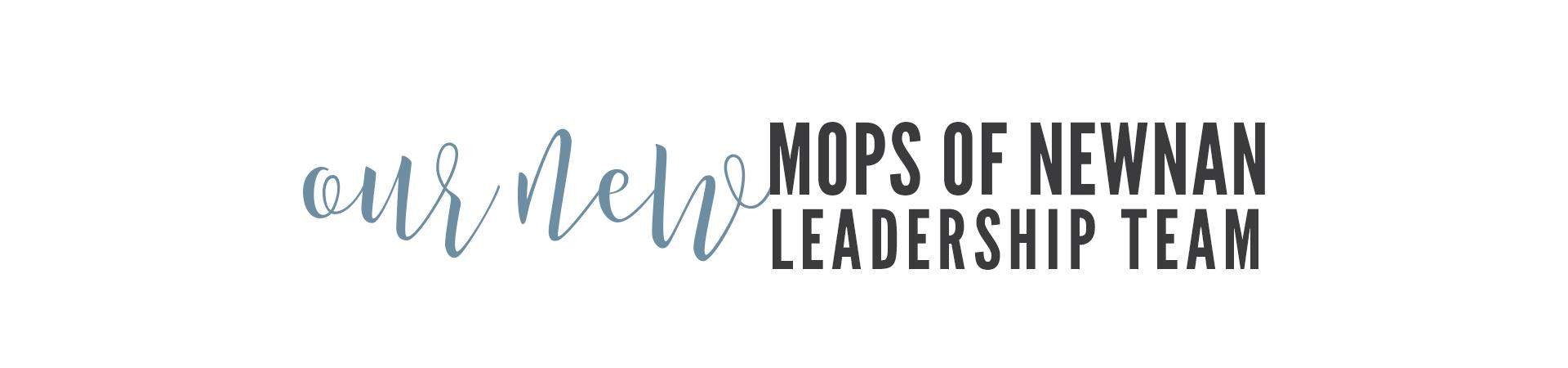 2019-2020 MOPS of Newnan Leadership Team
